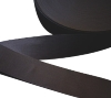 Flat bias tape (25mm - Cotton - Black)