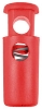 Cylinder cord stopper (30mm - Red - Plastic)