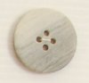 4-hole button (Plastic - 25mm - Light grey flecked)