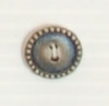 2-hole button (Metal - Silver - 12mm)