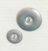 2-hole button (Metal - Nickel-plated buckle - 12mm)