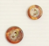 2-hole button (Plastic - Flowers - 12mm)