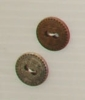 2-hole button (Metal - Bronze sun - 13mm)