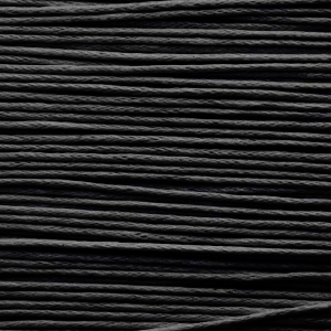 Cord (3mm - Waxed cotton - Black)