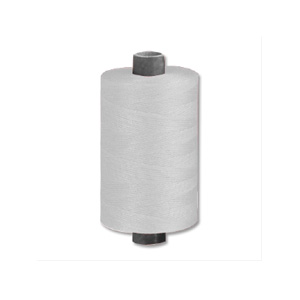 Isacord thread 120 1,000m reel (White)