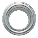 Eyelet diameter 8mm nickel-plated brass