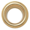 Eyelet diameter 6mm golden brass