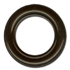 Eyelet diameter 40mm black-lacquered brass