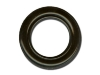 Washer diameter 40mm black-lacquered brass
