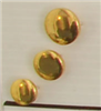 Shank button (Plastic - Golden - 12mm)