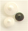 Shank button (Lace - Black - 15mm)