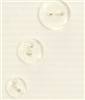2-hole button (Plastic - Transparent - 15mm)
