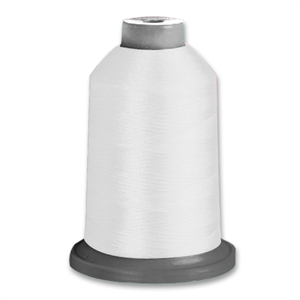 Polycotton thread 120 5,000m cone (White)