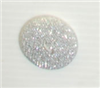2-hole button (Plastic - Glittered - 22mm)