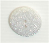 2-hole button (Plastic - Glittered - 25mm)